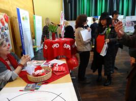 SPD-Infostand Freiwilligen-Messe 2017