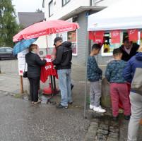 SPD-Stand auf dem Puchheimer Herbst-Marktsonntag 2016