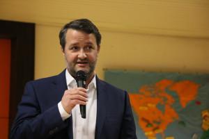 Dr. Christoph Maier beim Neujahrsempfang 2020 der SPD Puchheim