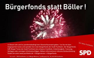 Bürgerfonds statt Böller!