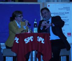 Christiane Ernst-Zettl im Gespräch mit Dr. Herbert Kränzlein
