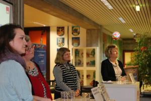 Sabrina Färber, Sabine Saatze-Schäfer, Rosmarie Ehm und Karin Doberer