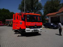 Löschgruppenfahrzeug (LF 16/12) der Freiwilligen Feuerwehr P.-Ort