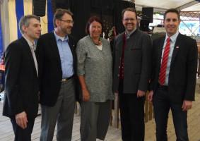 Norbert Seidl, Dr. Herbert Kränzlein, Kathrin Sonnenholzner, Markus Rinderspacher, Michael Schrodi