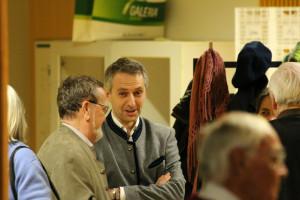 Unser Bürgermeister Norbert Seidl im Gespräch