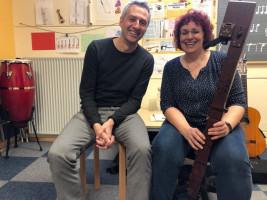 Besuch Norbert Seidl bei Sabine Januschko