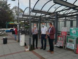 Die drei Puchheimer Bürgermeister Norbert Seidl (1.), Dr. Manfred Sengl (2.) und Thomas Hofschuster (3.)