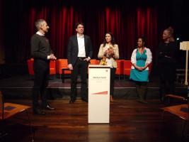 Schlachthof und Streichelzoo Podium 3.2.2020