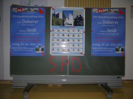 Begrüßungs-Plakattafel