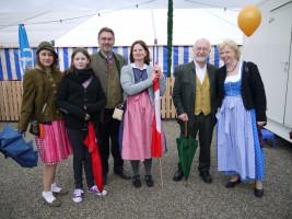SPD-Landtagskandidat Dr. Herbert Kränzlein feiert mit