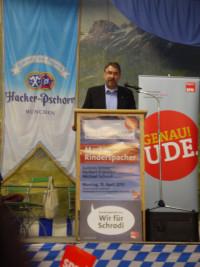 Dr. Herbert Kränzlein, unser Landtagskandidat für Landsberg/Fürstenfeldbruck-West