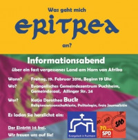 Der Flyer zur Veranstaltung