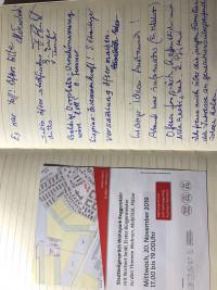 Gästebuch SPD im Dialog vor Ort Wohnpark Roggenstein 20.11.2019