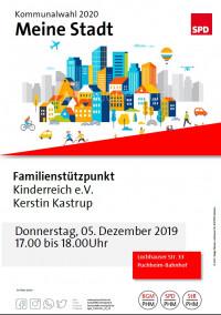 Plakat Besuch Familienstützpunkt 5.12.2019
