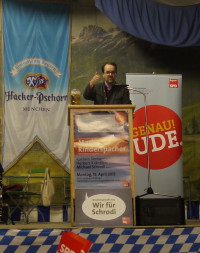 Markus Rinderspacher, MdL und SPD-Fraktionschef im Bayerischen Landtag