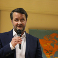 SPD-Landratskandidat Dr. Christoph Maier beim Neujahrsempfang 2020 der SPD Puchheim