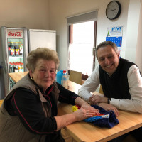 Aktion Meine Stadt - Besuch beim Brotzeitservice Elfriede Schmölz