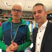 Norbert Seidl zu Besuch bei Daniels Fachsport