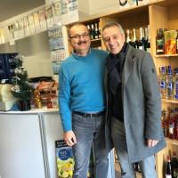 Besuch Norbert Seidl bei Marian Chiriac