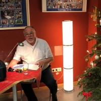 Otfrid Lankes liest die Weihnachtsgeschichte