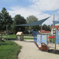 Sonnensegel Spielplatz Laurenzer Weg