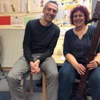 Besuch von Norbert Seidl bei Sabine Januschko