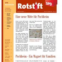 SPD-Puchheim Rotstift Ausgabe 1 Sept. 2015