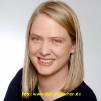 Simone Burger, Geschäftsführerin DGB München