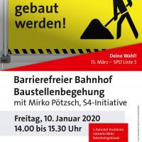 Plakat Begehung S-Bahnhof Puchheim