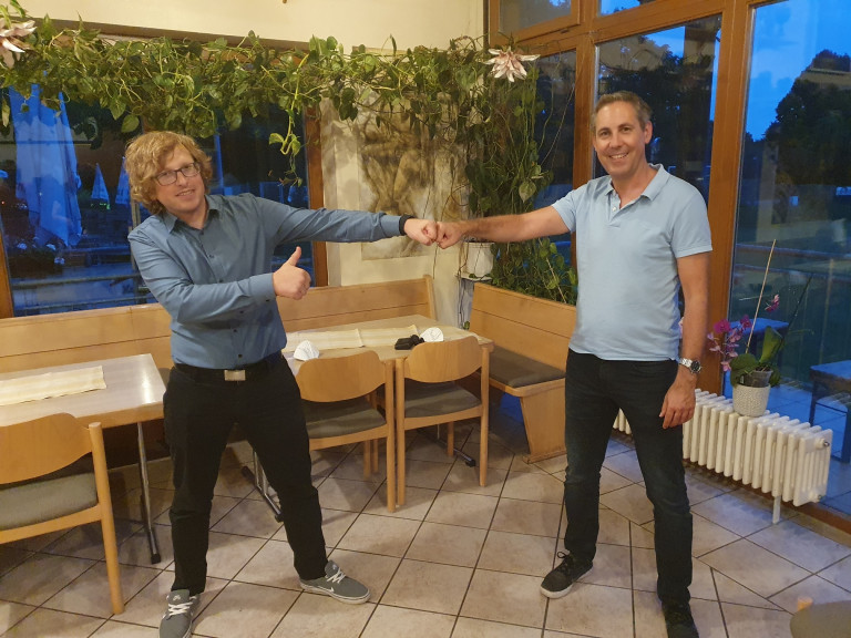 Christoph Schaffer und Michael Schrodi am 28. Juni 2021